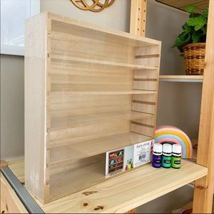 Target | Bullseye Essential Oil Display Shelf Wood